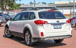 2014 Subaru Outback B5A MY14 2.5i Lineartronic AWD White 6 Speed Constant Variable Wagon
