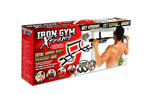 Iron Gym Xtreme Total Upper Body Workout Bar