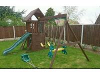 WANTED climbing frame slide swing PLEASE
