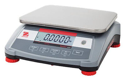 Ohaus Ranger R31p15 Compact Bench Scale 30x0.001 Lb15kgx0.5gnteplftrs232new