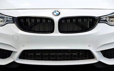 BMW F32 F33 F36 4 Series Gloss Black Kidney Grill Grille Twin Bar All Models