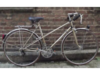 Cool french vintage ladies bike LELEU frame size 19in - 10 speed - serviced - Welcome for test ride
