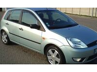 Excellent Condition!! Low Mileage!! Ford Fiesta Silver Car for Sale!! Full Service History!!