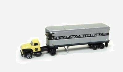 Classic Metal Works Mini Metals Lee Way Motor Freight Tractor Trailer    N scale for sale  Chippewa Falls