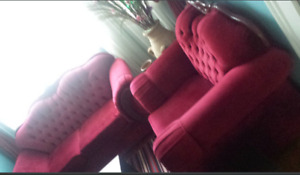 ☆RED COUCH SET☆