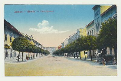 AK / Zemun - Semlin ( Belgrad Stadtteil ), .. Hauptgasse