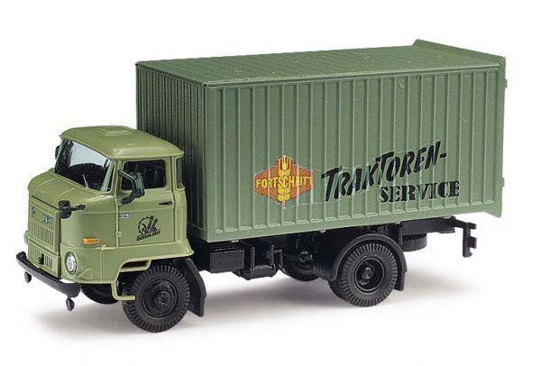 Busch 95534 - 1/87 / H0 IFA L60 ETK - Goldene Ähre / Traktoren Service - Neu