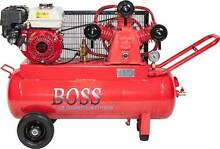 BOSS 18CFM/ 6.5HP HONDA Powered Petrol Air Compressor (70L Tank) Browns Plains Logan Area Preview