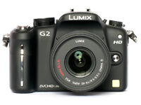 Panasonic Lumix DMC-G2 12.1MP - Black with 14-42mm Lumix G VARIO f/3.5-5.6 ASPH MEGA OIS BOXED