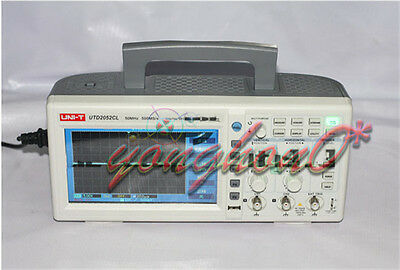 New Uni-t Utd2052cl Digital Oscilloscope 2 Channel 50mhz