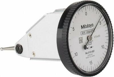 Mitutoyo 513-452-10t Vertical Dial Test Indicator Set .030 Range .0005 Gradu