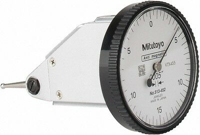 Mitutoyo 0.03 Inch Range 0.0005 Inch Dial Graduation Vertical Dial Test Ind...