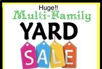 Huge multi Family Garage sale Aug 16-18: come before it's gone!