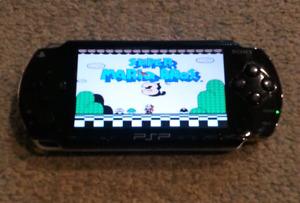 Modded PSP EVERY NES SNES SEGA TG16 Game  + more