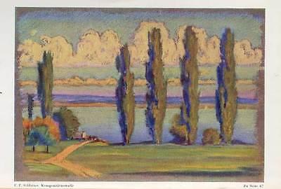 Malerei Kunst Unterricht Pastellmalerei Theorie Technik Lehrbuch von 1948