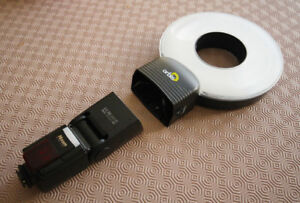 Orbis ring flash adapter for a speedlight