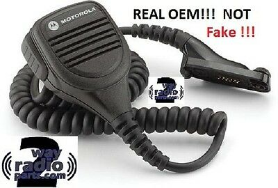 New Real Motorola Remote Speaker Mic Pmmn4024a Xpr6550 Xpr6350 Xpr7550 Apx4000