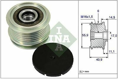 AUDI  Over Running Alternator Pulley  INA  535001210 AUDI 022 903 119