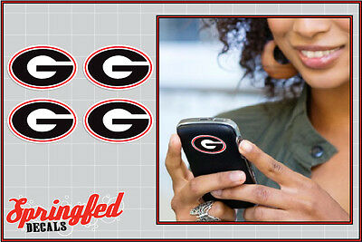 Georgia Bulldogs G Logos 4 pack 2