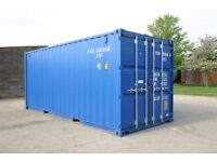 Self-Storage Shipping Containers for Rent in Secure Compound