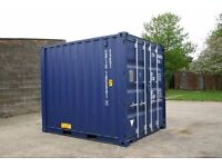 10 x 8 ft storage containers to rent - Rural business park location