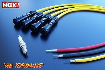 Honda CB650 Motorcycle Spark Plug Wires Cables Set, DOHC CB 650 Nighthawk