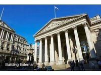 BANK Office Space to Let, EC3V - Flexible Terms | 2 - 80 people