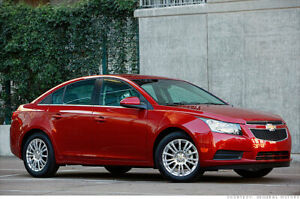 2012 Chevrolet Cruze Eco Sedan - Manual, 115kms, Red