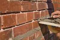 Joint pointing and brick work