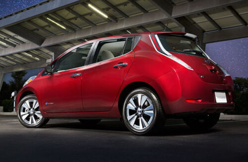 More Range: Nissan Will Offer a Larger Battery Pack for Leaf EV