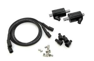 Dyna Ignition Coils 5 ohm Output DC10-1 Wires DW-200 Honda CB350  Twin