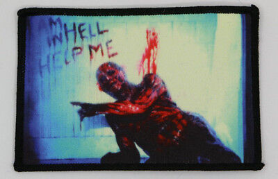 PATCH Hellraiser - Cult HORROR movie - Frank in Hell - Pinhead Clive Barker Gore