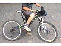 Commencal full suss mountain bike