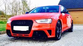 Audi A4 rs4 Replica Show car