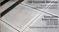 KD Concrete Services