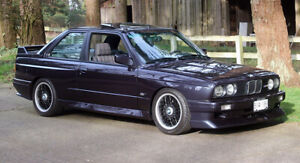 Want to buy an classic BMW M3 E30/M6 E24/M5/2800-3.0 E9/2002