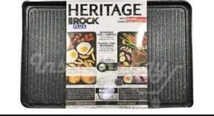 Heritage ROCK reversible Grill/Griddle brand new