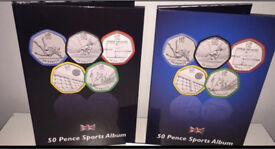 Brand New Olympic 50p London Olympic Games Album