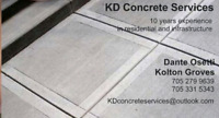 KD Concrete Services