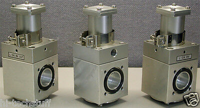 Stainless Pneumatic Valves Lot Of 3