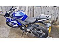 Quick sale Yamaha r125 low mileage