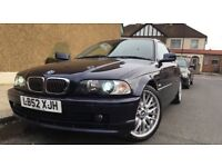 2004 BMW 320ci SE auto coupe blue low mileage xenon automatic leather