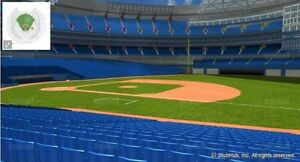 Blue Jays VS Indians - Field Level Seats! Section 115 Oct17-19