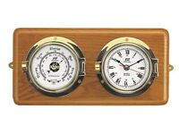 Plastimo Barometer and clock - Boat. Premium quality RRP: 399