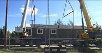 Modular Mobile Home Services & ReLeveling