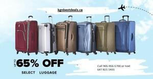 new BRAND NAME Luggage Sale * samsonite, swiss, it luggage, kenith kole & more *