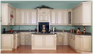 Solid Maple Cabinet 50% OFF+Granite/Quartz Countertop from $45