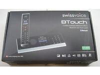 Swissvoice cordless phone/answering machine, hardly used, smart design