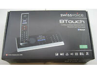 Swissvoice cordless phone/answering machine, hardly used, stylish design