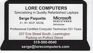 Certified Refurbished Laptops and Desktops i5 and i7 Dell